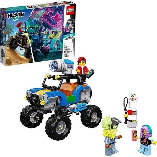 LEGO 樂高 Hidden Side Side Jack s Beach Buggy 70428流行的幽靈玩具(170件)
