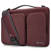【美國代購】Tomtoc 360° 防摔保護 Laptop Sleeve Case for MacBook/Surface Pro/NB/Tablet-紅棕色