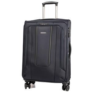 eminent 雅仕 - 簡約撞色布面行李箱20吋墨藍