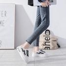 半拖鞋女2021年新款爆款百搭網紅包頭懶人鞋子外穿厚底2021小白鞋 快速出貨