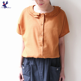 【春夏新品】American Bluedeer - 荷葉領連袖衣 二色 春夏新款