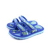 GP(Gold.Pigon) 拖鞋 戶外 防水 藍色 中童 童鞋 G0523B-20 no060 17.5~20.5cm