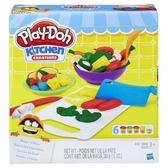 【培樂多Play-Doh】創意DIY黏土 廚房系列 切菜料理組
