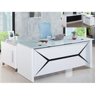 書桌 電腦桌 FB-712-1 烤漆白色...