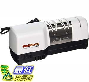 [9美國直購] 磨刀器 Chef'sChoice 270 Hybrid Diamond Hone Knife Sharpener Combines Electric and