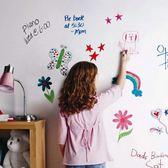白板墻貼可擦寫移除無毒特厚白板貼紙自粘教學辦公兒童塗鴉墻家用