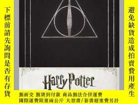 二手書博民逛書店Harry罕見Potter Deathly Hallows Hardcover Ruled JournalY4