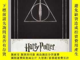 二手書博民逛書店Harry罕見Potter Deathly Hallows Hardcover Ruled JournalY4