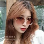 《Caroline》年度最新網紅款潮流行百搭抗UV時尚個性太陽眼鏡 71863
