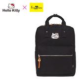 【橘子包包館】Hello Kitty x Freak Paradise 凱蒂學院-方型後背包-黑 FPKT0F001BK