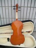 全新正品入門亮光小提琴 初學者練習小提琴【全館滿千折88折優惠】
