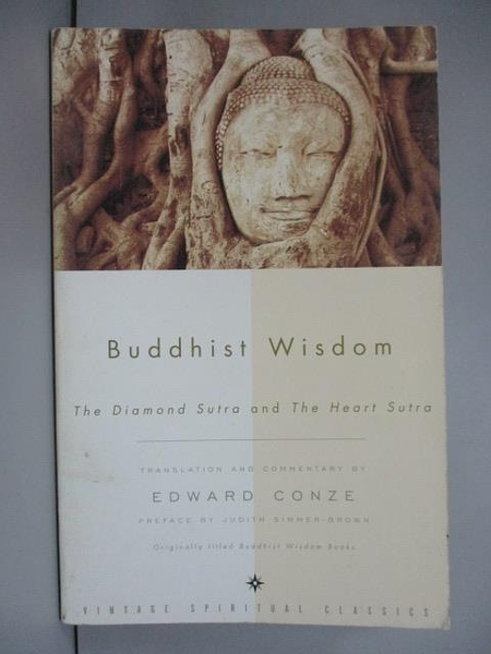 【書寶二手書T2/宗教_IGM】Buddhist Wisdom: Containing the Diamond Sutr