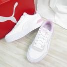 PUMA CARINA LIF 休閒鞋 運動鞋 37303110 女款 白粉【iSport愛運動】