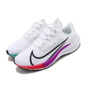 Nike 慢跑鞋 Wmns Air Zoom Pegasus 37 白 彩色 女鞋 飛馬 運動鞋 【ACS】 BQ9647-103