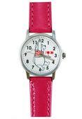 【卡漫城】 小熊 維尼 皮革 手錶 粉色  ㊣版 Winnie Pooh 維尼熊 卡通錶 兒童錶 女錶 迪士尼