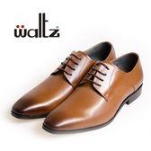 Waltz-簡約基本款紳士皮鞋212146-06(棕)