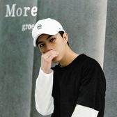 【M】夏季防曬白色帽子男百搭韓版簡約棒球帽潮流學生街頭鴨舌帽 艾尚旗艦店