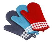隔熱手套 耐高溫350度 2只 商用微波爐燒烤 烤箱防燙加厚烘培隔熱硅膠手套   蜜拉貝爾