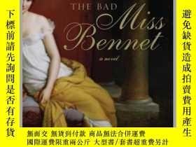 二手書博民逛書店The罕見Bad Miss BennetY410016 Jean Burnett Jean... PEGASU