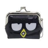 【日本進口正版】酷企鵝 Bad Badtz-maru 三麗鷗人物 珠扣包 零錢包 Sanrio - 052472