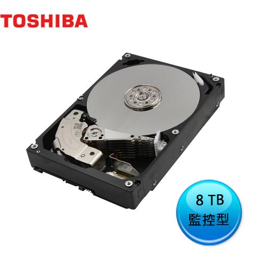 硬碟 TOSHIBA 東芝 8T B 3.5吋 SATA3 影音監控硬碟 MD06ACA800V