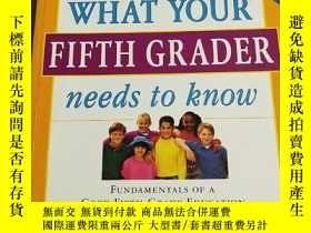 二手書博民逛書店What罕見Your Fifth Grader Needs to