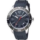 瑞士WENGER Roadster 速度系列 競速極限運動腕錶 01.0851.117