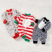 初新生嬰兒睡衣女爬服男寶寶珊瑚絨連體衣秋冬季加厚保暖哈衣秋裝 年底清倉8折