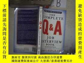 二手書博民逛書店the罕見complete Q & A Job Interview Book, 完整的問答面試書,A1Y261