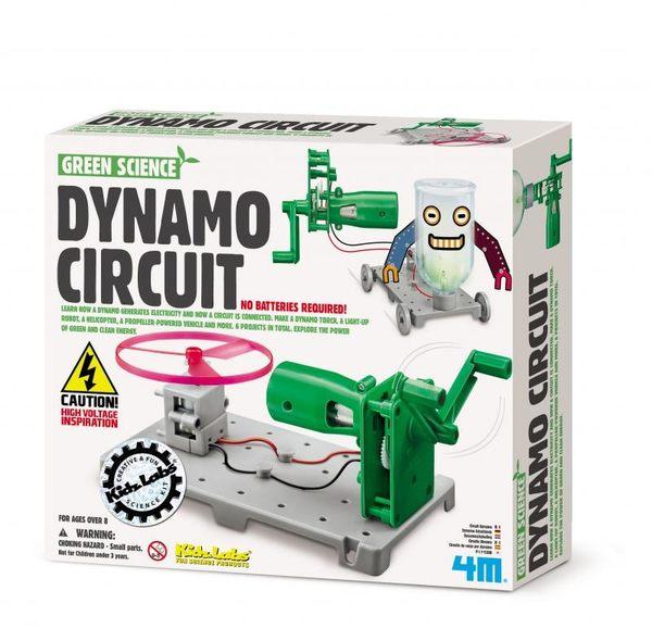 【4M】科學探索系列 - 動力發電裝置 Dynamo Circuit Board 00-03361