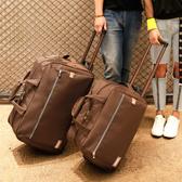 拉桿包 新品雙肩拉桿背包萬向輪旅行包男女防水超輕可折疊行李箱旅行袋YXS 優家小鋪