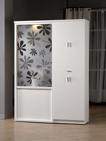 8號店鋪 森寶藝品傢俱 a-01 品味生活   雙面櫃系列 848-2 米洛斯4.7尺玄關屏風鞋櫃