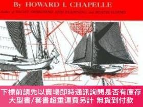 二手書博民逛書店American罕見Small Sailing CraftY255174 Chapelle, Howard I
