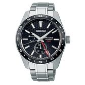 《台南 時代鐘錶 SEIKO》精工 Presage 新銳 SPB221J1 動力儲存 鋼錶帶機械男錶 6R64-00C0D 黑 42.2mm