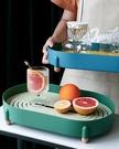 【兩色】拚色瀝水托盤 北歐簡約風格 茶盤 大容量收納架 水果盤 廚房道具