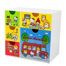 三麗鷗明星桌上型塑膠置物櫃(復古)★funbox★SKATER_S43302