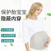 防輻射服孕婦裝孕婦防輻射服肚兜內穿銀纖維護胎寶圍裙秋冬款   遇見生活