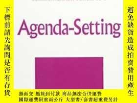 二手書博民逛書店罕見Agenda-setting-議程設置Y436638 James W. Dearing;... Sage
