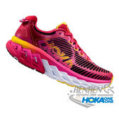 HOKAONEONE 女慢跑鞋 ARAHI (粉/螢光桃紅) 輕量穩定動能跑鞋【 胖媛的店 】