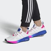【折後$4599再送贈品】adidas ZX 2K BOOST 運動鞋 白 藍粉 漸層 慢跑 有氧 運動鞋 愛迪達 FY0605