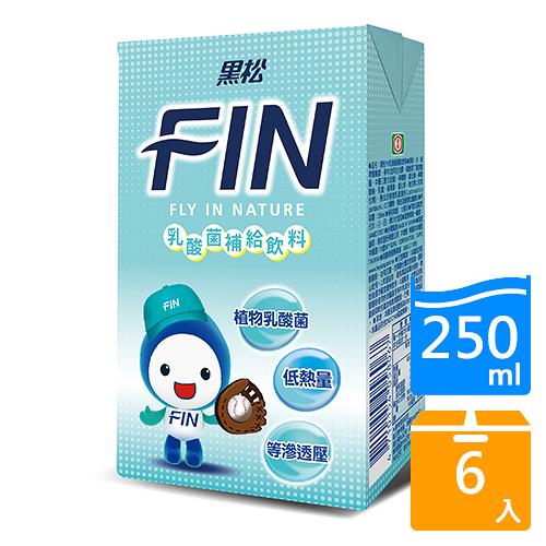 FIN乳酸菌補給飲料250ML x6入【愛買】