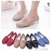 雨鞋女士短筒夏季高中低筒水靴廚房時尚淺口水鞋成人防水雨靴膠鞋  ciyo黛雅
