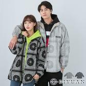 【OBIYUAN】情侶外套 變形蟲 素面 兩面可穿 工裝外套 共2色【FMW03】