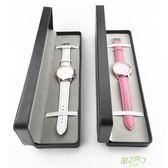 手錶收藏盒 高檔PU手錶盒子收納盒禮品盒包裝盒手錶展示盒長方形手錶箱