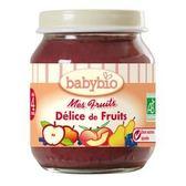法國Babybio寶寶鮮果泥系列-什錦鮮果泥130g[衛立兒生活館]