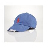 Polo Ralph Lauren 遮陽兒童棒球帽 藍紅大馬 2-4T 春夏防曬 | 男童【RA56486956】