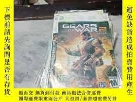 二手書博民逛書店遊戲光盤罕見XBOX 360 GEARS OF WAR 2 (光