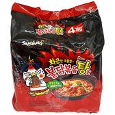 火辣雞肉風味湯麵145g x 4包(整袋裝)【小三美日】