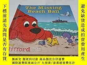 二手書博民逛書店the罕見missing beach ball 精裝Y9212