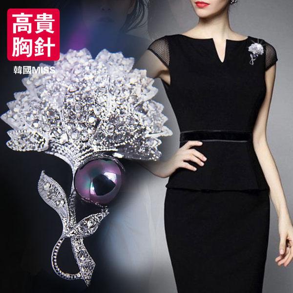618好康又一發新品胸針生日禮物韓國仿珍珠蒲公英胸